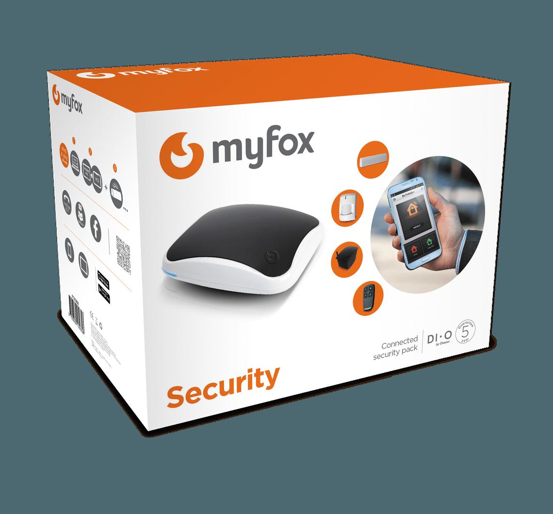 Centrale myfox home control 2 pr sentation de la box - Myfox home control ...