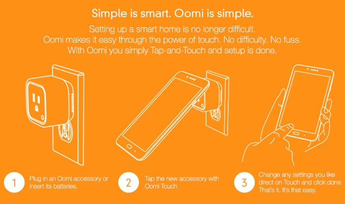 Oomi Tap-and-Touch