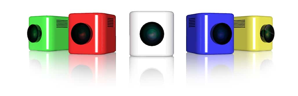 VisionCube vidéoprojecteur connecté