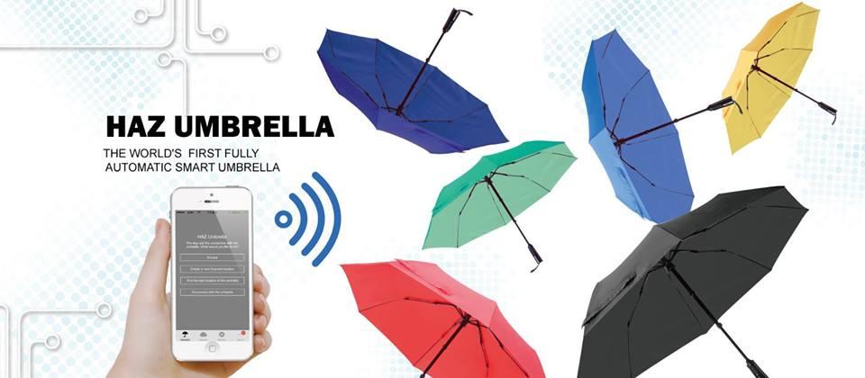 HAZ parapluie automatique connecté intelligent