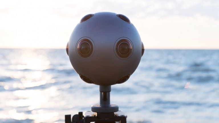 Nokia Ozo caméra3D VR