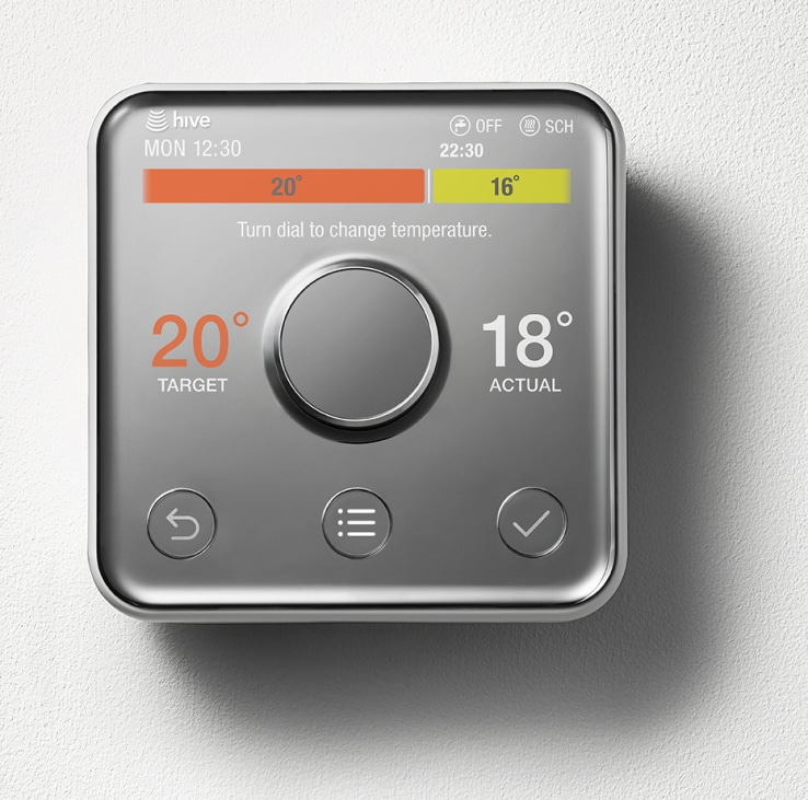 Thermostat Hive British Gas Hive Active Heating 2