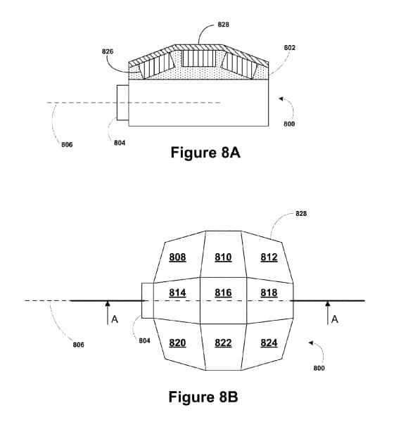google patent connected cap