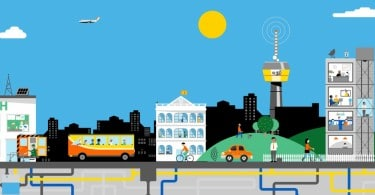 Smart cities orange