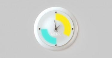 Glance horloge murale intelligente