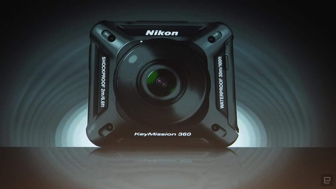 KeyMission 360 caméra VR Nikon