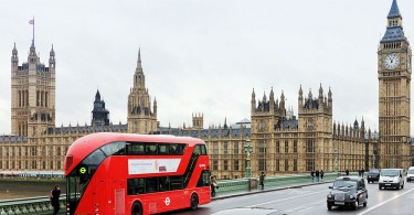 bus de Londres capteurs intelligents ido