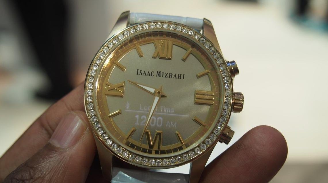 Isaac Mizrahi HP smartwatch