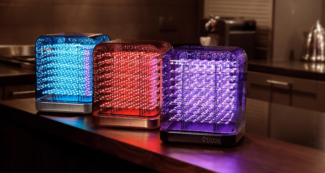Tittle Light lampe LED connectée 3D