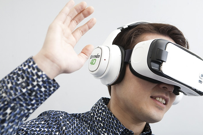 casque Entrim 4D Samsung Gear VR