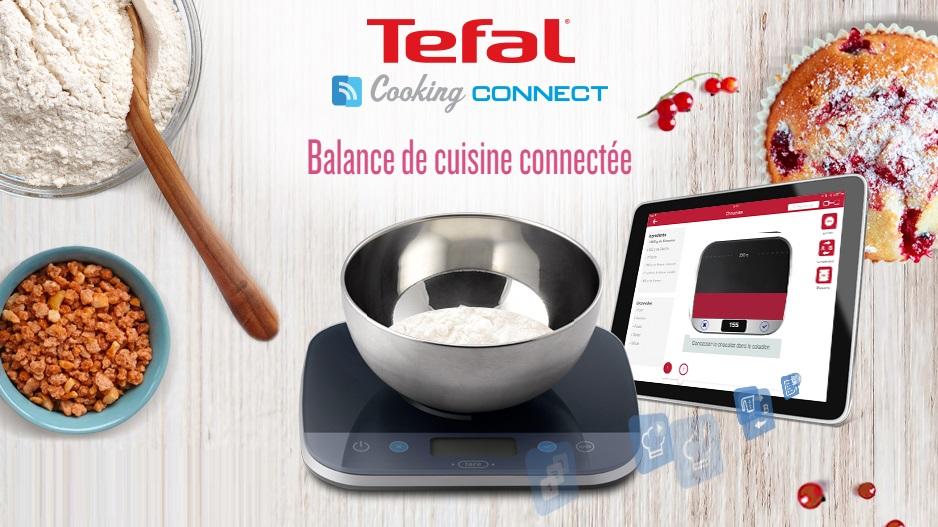 tefal cooking connect une balance connect e tr s compl te. Black Bedroom Furniture Sets. Home Design Ideas