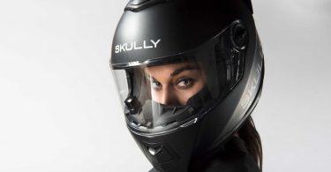casque de moto en réalité augmentée Skully AR-1