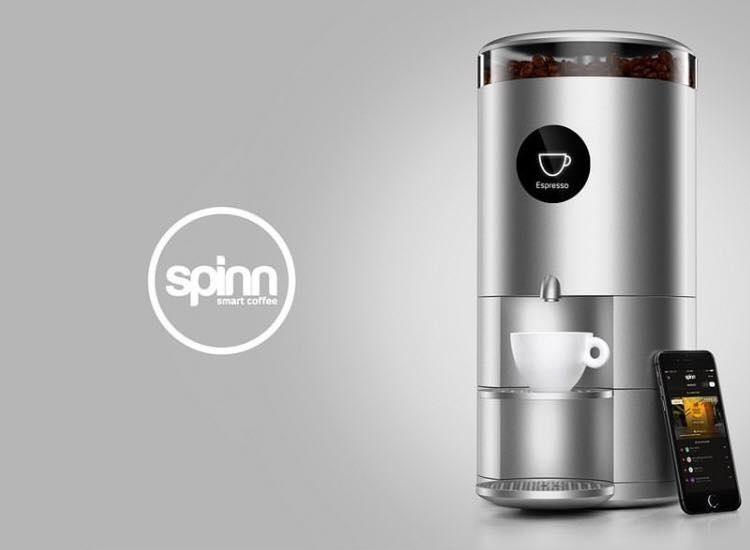 Spinn machine à café connectée