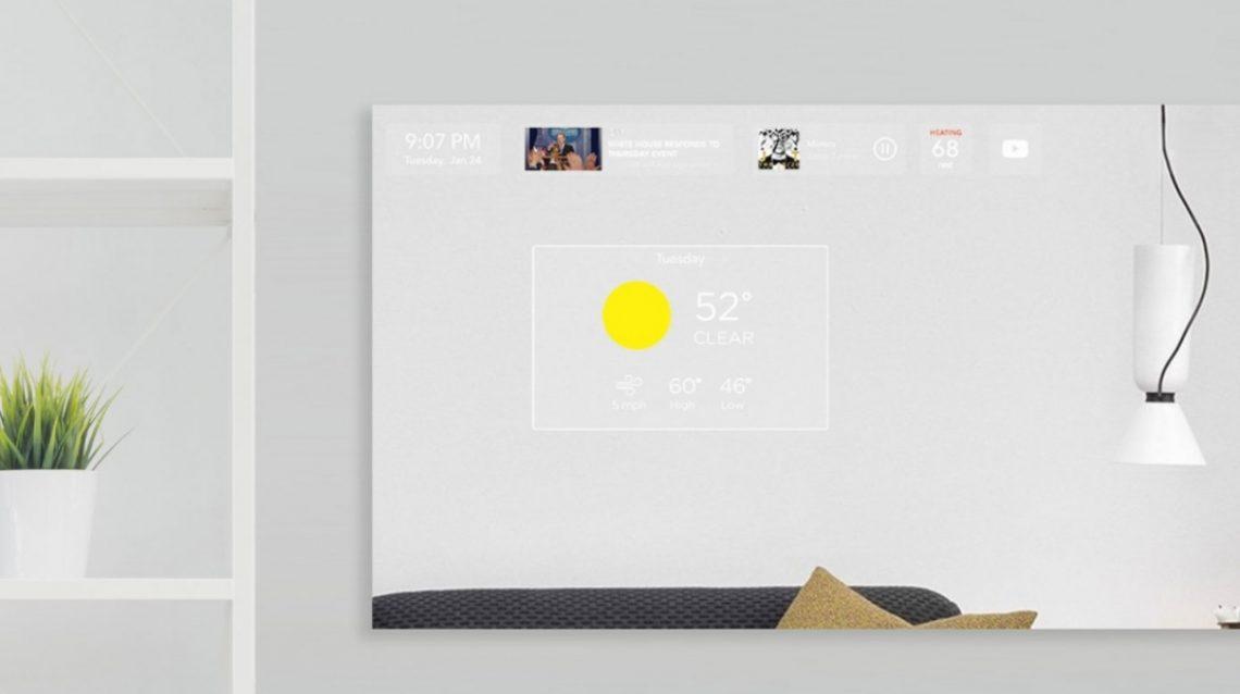 duo le miroir connect dot d 39 intelligence artificielle. Black Bedroom Furniture Sets. Home Design Ideas