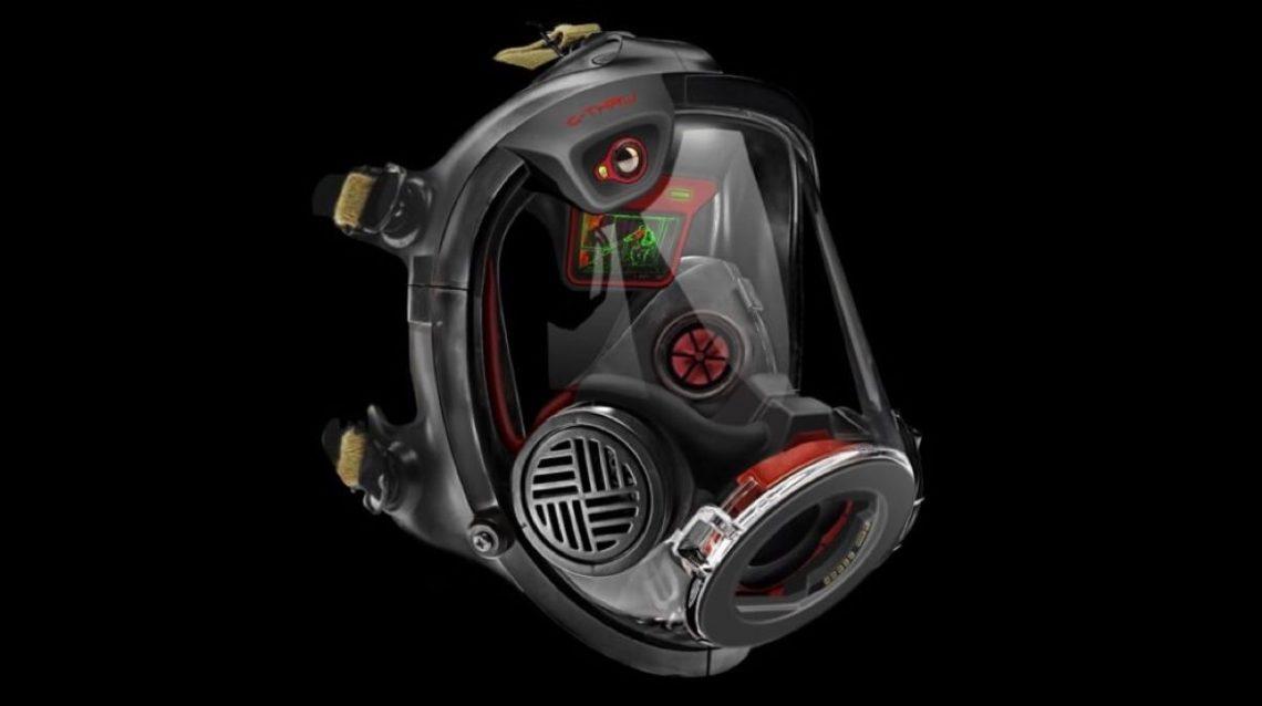 Qwake Tech casque AR pour les pompiers