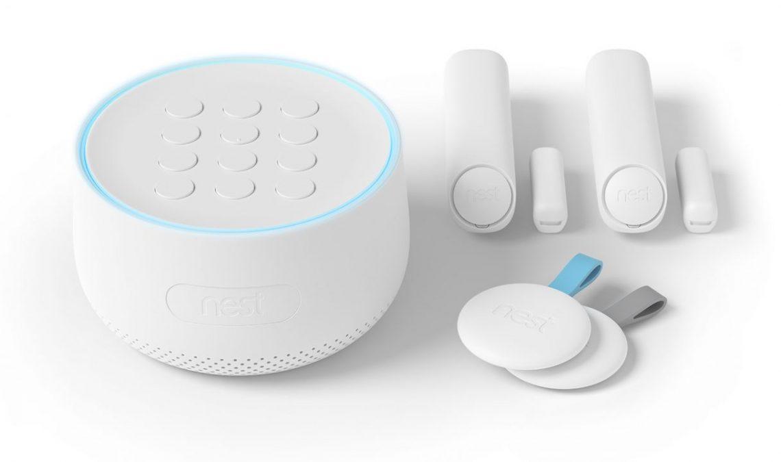 Nest Secure alarme connectée et intelligente de Google