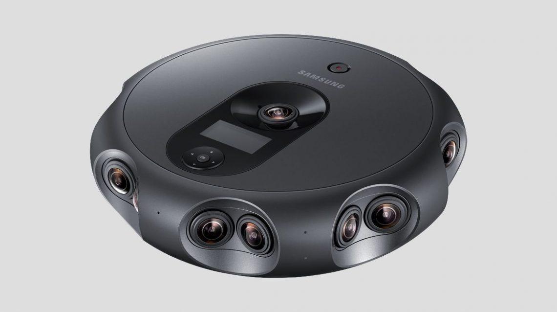 360 Round - La nouvelle caméra VR survitaminée de Samsung