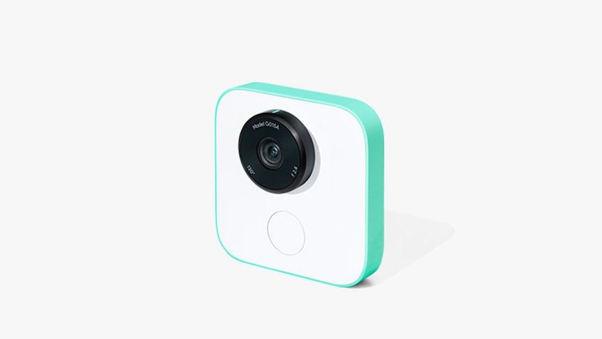 google clips camera wearable