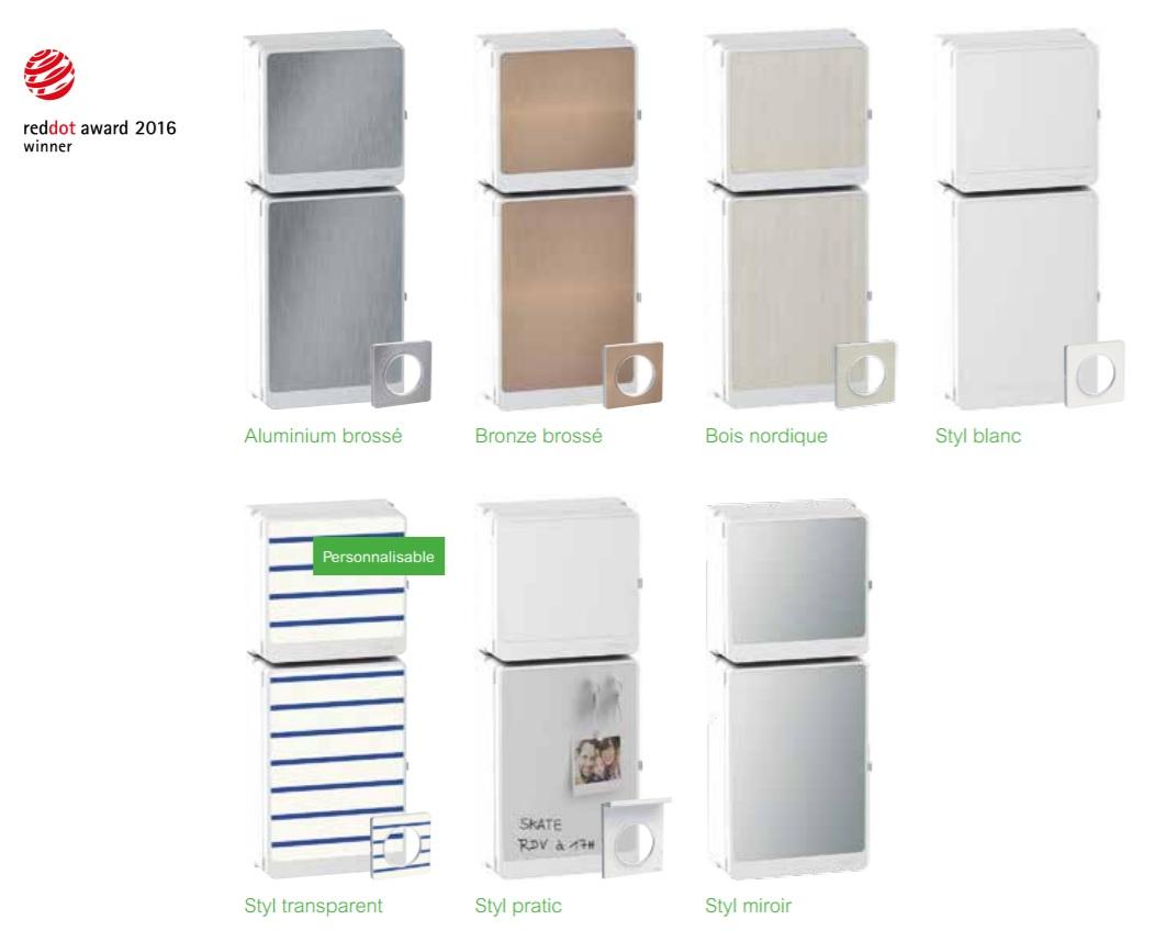 resi9 le tableau lectrique connect de schneider electric. Black Bedroom Furniture Sets. Home Design Ideas