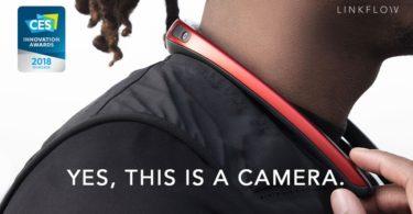 FITT360 caméra 360 wearable