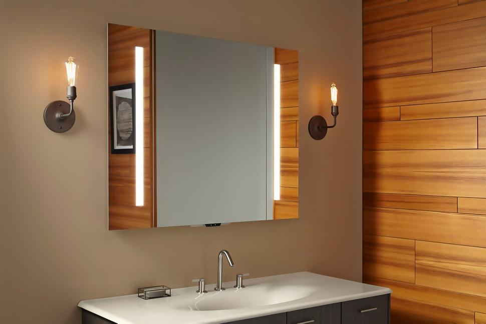 Verdera – Un miroir compatible Alexa vous permet de contrôler votre salle de bain à la voix