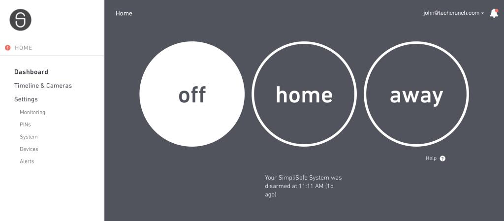 SimpliSafe - Un système domotique rapide et simple à installer