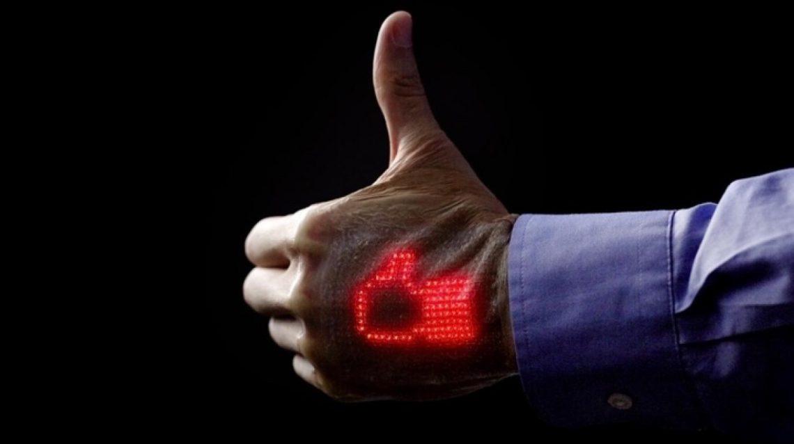 e-skin - Un patch électronique qui affiche vos signes vitauxe-skin - Un patch électronique qui affiche vos signes vitaux