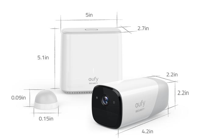 EverCam promet une année de vidéosurveillance sur une seule charge