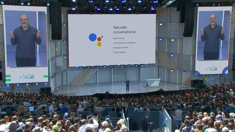 Google Assistant mode conversationnel continu