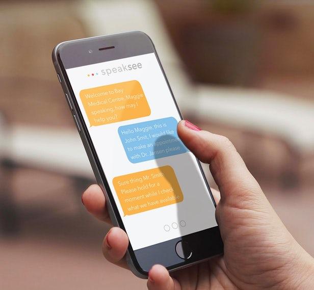 SpeakSee permet aux personnes sourdes de participer à une conversation 1