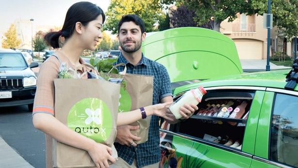 AutoX - Le service de livraison de courses autonome arrive en Californie