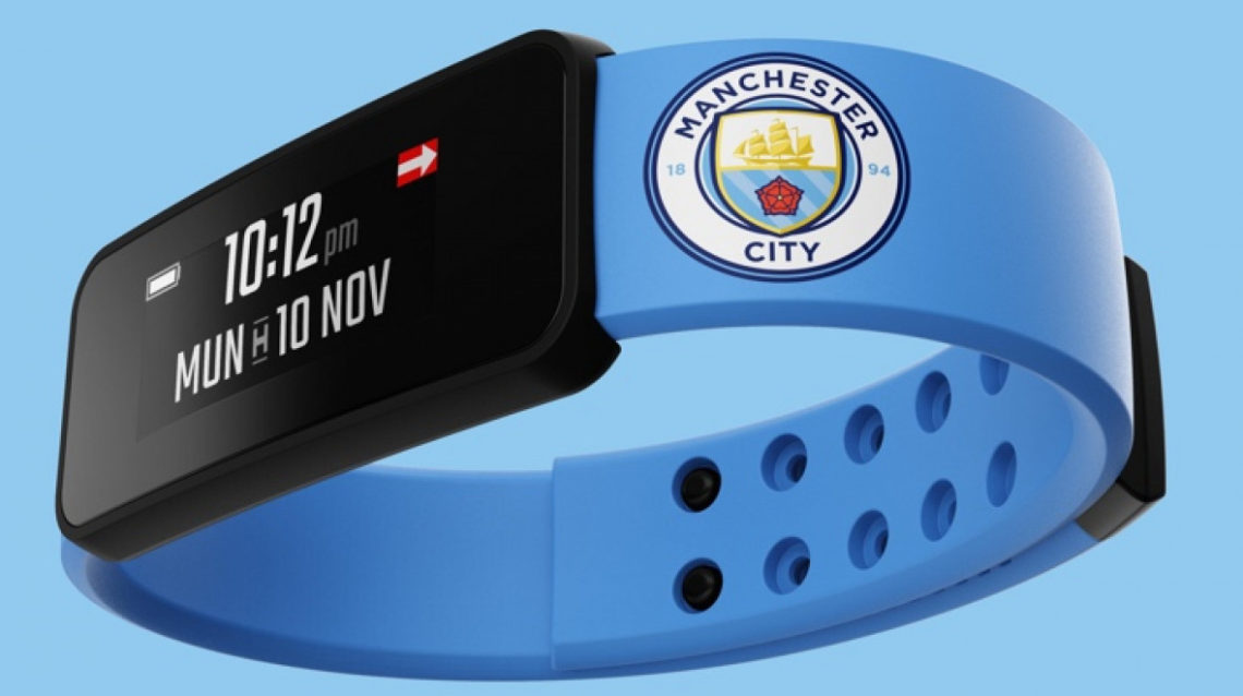 Fantom Smart Band un bracelet connecté pour les supporters de Manchester City
