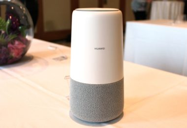 AI Cube – L'enceinte routeur 4G de Huawei alimenté par Alexa