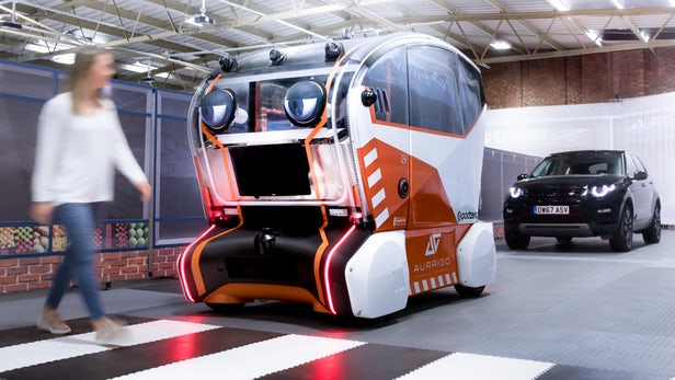 voitures autonomes Jaguar Land Rover