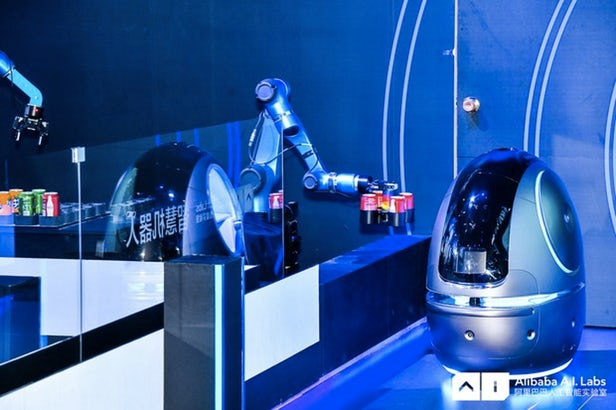 Le robot d'Alibaba va travailler dans les hôtels