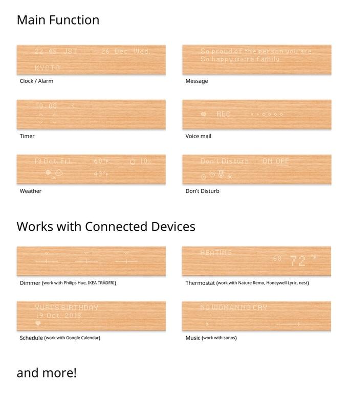 Mui – Un panneau en bois interactif qui permet de contrôler votre domotique 1