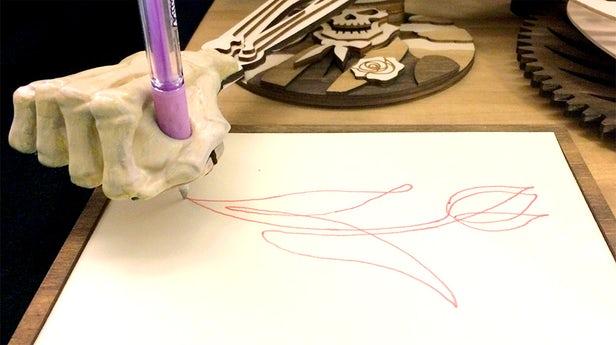 Drawmaton – La machine à dessiner inspirée par Da Vinci 1