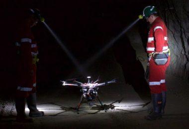 Hovermap – Des drones pour cartographier les grottes, les mines et les tunnels