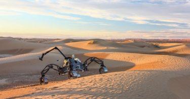DFKI Robotics Innovation test trois robots autonomes martiens au Maroc