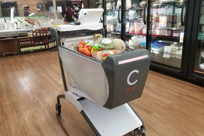 Ce chariot intelligent permet de se passer de caissiers dans les magasins