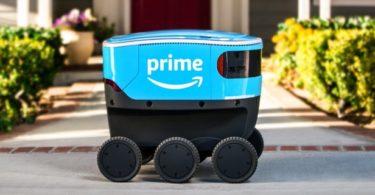 Scout – Amazon lance un service de livraison autonome utilisant des robots à six roues