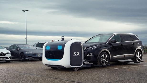 Stan – Un service de voiturier robot autonome arrive à l'aéroport de Gatwick