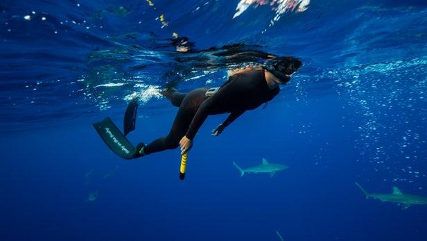 eSpear – Un wearable pour faire fuir les requins avec un champ électrique