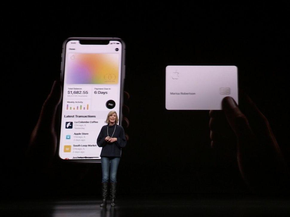 Apple Cardune carte de crédit virtuelle pour votre iPhone 1