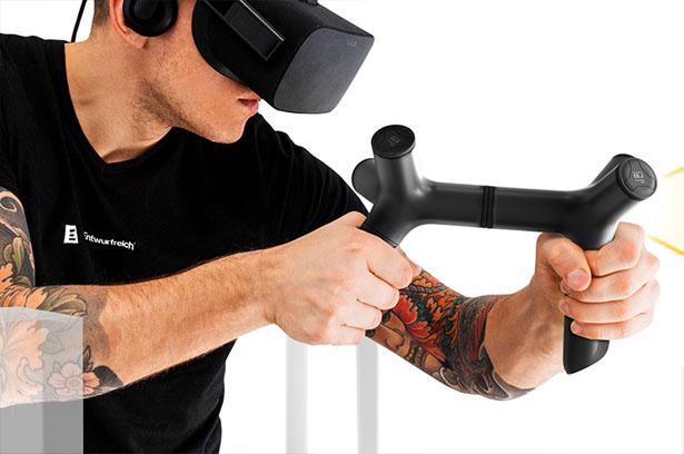 ENTWURFREICH – Un concept de contrôleur de réalité mixte (MRC)