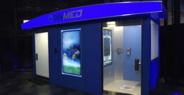 OnMed – Une cabine médicale qui fait des diagnostics et distribue des médicaments