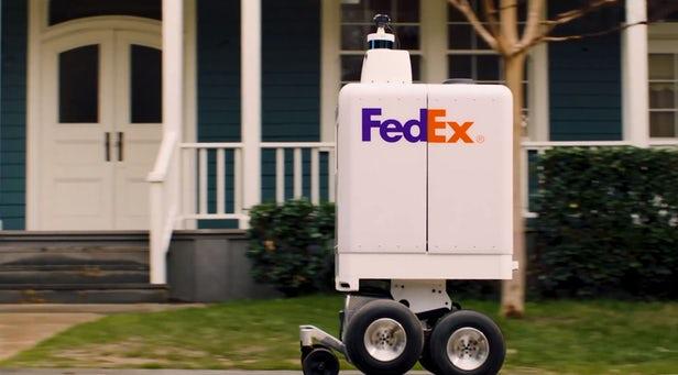SameDay - FedEx lance un robot de livraison autonome 1