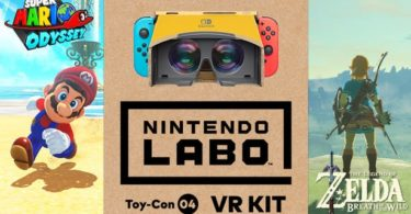 Le Kit Labo VR sera disponible pour Super Mario Odyssey et The Legend of Zelda