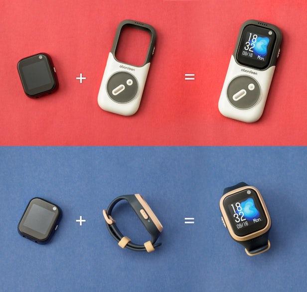 Novus – Un smartphone montre et haut-parleur intelligent modulaire 1