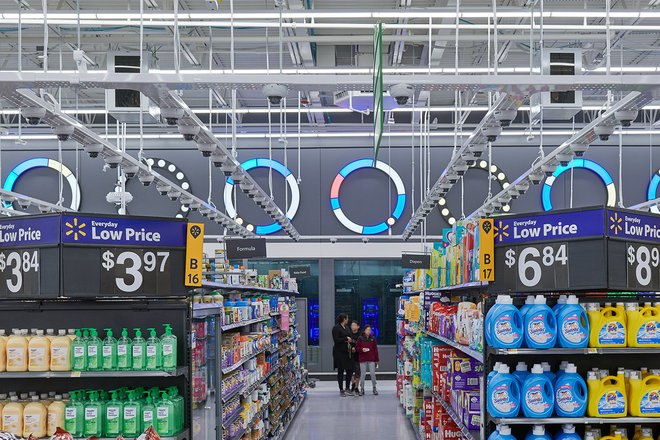 premier magasin intelligent de Walmart